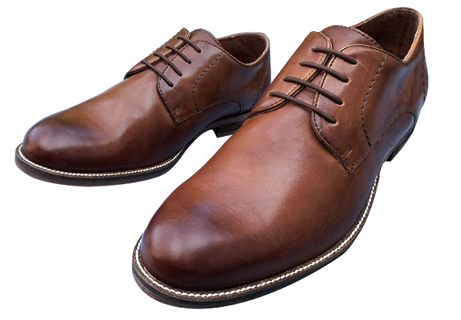 Shoelace pattern for dress shoes